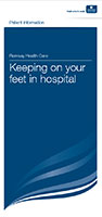 Keeping on your feet in hospital